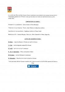 programme 2016 comité