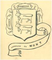 Les armoiries de Mont